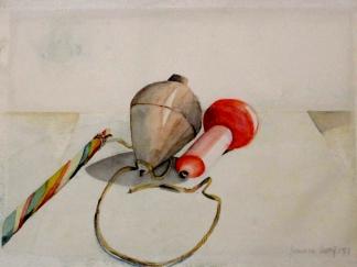 francine-kooij-aquarellen-stillevens-twee-tollen