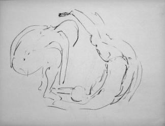 francine-kooij-houtskool-tekeningen-modelstudies-dansend-04